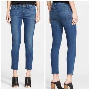 Frame Le Skinny de Jeanne Crop Jeans Size 29